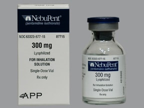 Nebupent 300 mg solution for inhalation