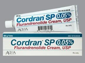 Cordran 0.05 % topical cream