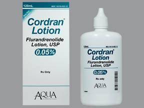 Cordran 0.05 % lotion