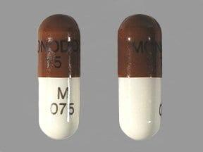 Monodox 75 mg capsule
