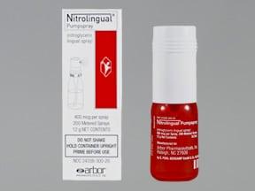 Nitrolingual 400 mcg/spray