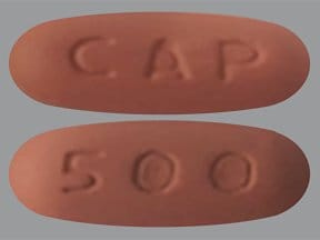 capecitabine 500 mg tablet