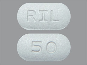 riluzole 50 mg tablet