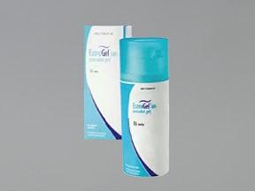 EstroGel 1.25 gram/actuation (0.06%) transdermal gel pump