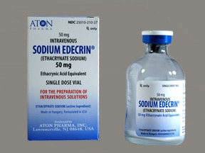 Sodium Edecrin 50 mg intravenous solution