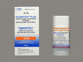 Timoptic 0.5 % eye drops