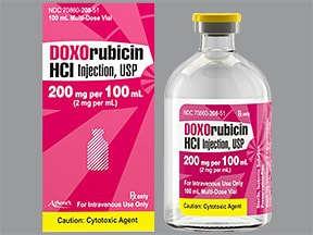 doxorubicin 2 mg/mL intravenous solution
