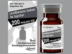 levothyroxine 200 mcg intravenous powder for solution