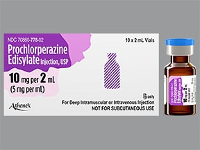 prochlorperazine Edisylate 10 mg/2 mL (5 mg/mL) injection solution