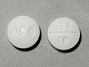 glipizide 10 mg tablet