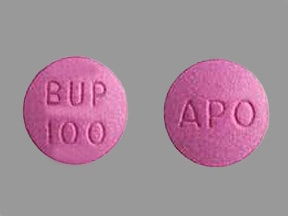 bupropion HCl 100 mg tablet