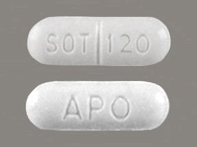 sotalol 120 mg tablet