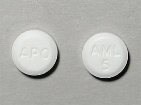 amlodipine 5 mg tablet