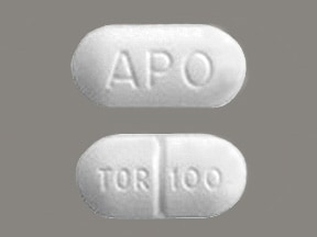torsemide 100 mg tablet