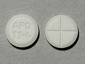 tizanidine 4 mg tablet
