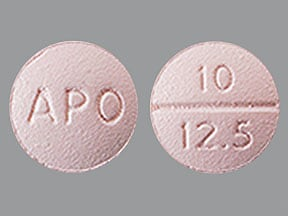 benazepril 10 mg-hydrochlorothiazide 12.5 mg tablet
