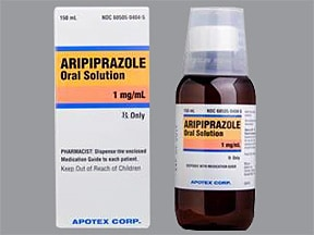 aripiprazole 1 mg/mL oral solution