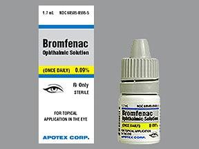 bromfenac 0.09 % eye drops
