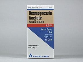 Ddavp Side Effects Nasal Spray