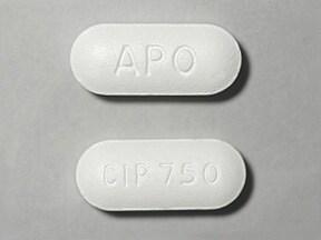 ciprofloxacin 750 mg tablet