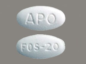 fosinopril 20 mg tablet