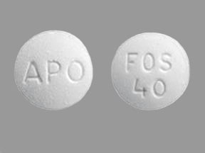 fosinopril 40 mg tablet