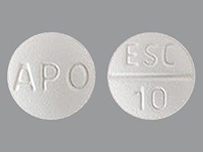 escitalopram 10 mg tablet