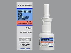 azelastine steroid