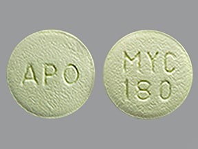 mycophenolate sodium 180 mg tablet,delayed release