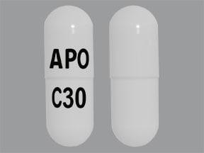 cevimeline 30 mg capsule