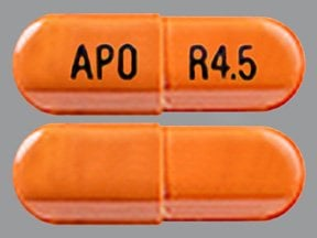 rivastigmine 4.5 mg capsule