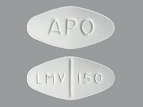 lamivudine 150 mg tablet