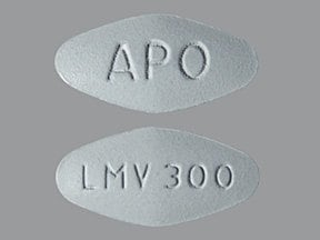 lamivudine 300 mg tablet