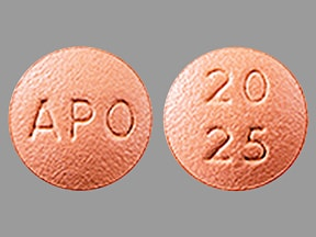 quinapril 20 mg-hydrochlorothiazide 25 mg tablet