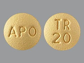 trospium 20 mg tablet