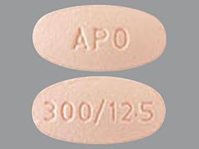 irbesartan 300 mg-hydrochlorothiazide 12.5 mg tablet