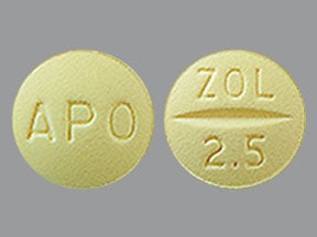 zolmitriptan 2.5 mg tablet