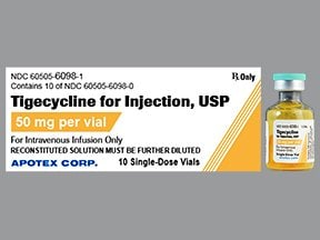 tigecycline 50 mg intravenous solution