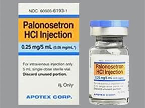 palonosetron 0.25 mg/5 mL intravenous solution