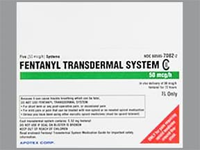fentanyl 50 mcg/hr transdermal patch