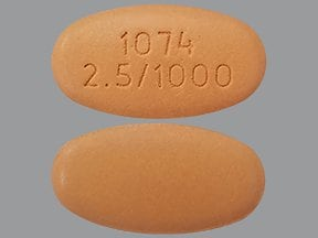Xigduo XR 2.5 mg-1,000 mg tablet,extended release
