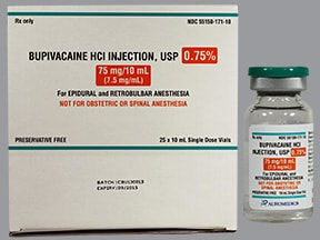 bupivacaine (PF) 0.75 % (7.5 mg/mL) injection solution