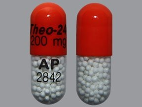Theo-24 200 mg capsule,extended release