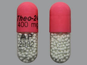Theo-24 400 mg capsule,extended release