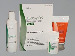 Avidoxy DK 100 mg-2 %-SPF 30 kit
