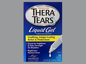 TheraTears 1 % gel in a dropperette