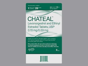 Chateal 0.15 mg-0.03 mg tablet