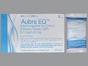 Aubra EQ 0.1 mg-20 mcg tablet