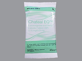 Chateal EQ (28) 0.15 mg-0.03 mg tablet