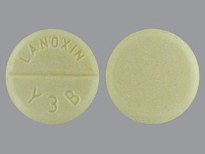 digoxin 125 mcg (0.125 mg) tablet